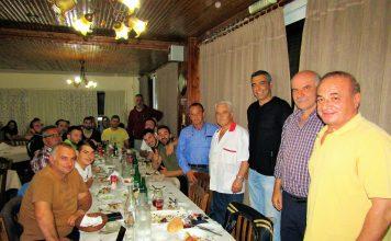 Κεραυνός Αιγίου: Αποχαιρετηστήριο τραπέζι στο 'Πικάντικο'