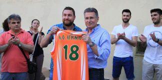 Α.Ο. Αγρινίου: Επίσκεψη στο 4ο Δημοτικό Σχολείο Αγρινίου