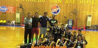 Οι Νέοι Εσπέρου Α.Ο.Π.Α. κατέκτησαν το 1ο τουρνουά 'Κ. Μιχαλόπουλος'-φώτος