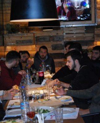 Ευχαριστίες Απόλλωνα Carna στο 'Pomodoro'-pics