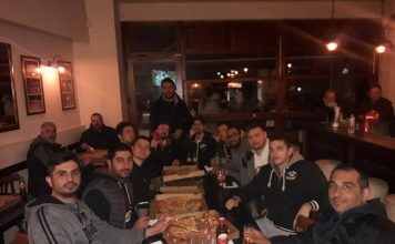 Επινίκιο γεύμα για παίκτες και διοίκηση του Αίαντα Α.Σ.Α.Α.