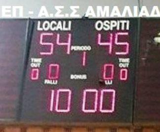 Ν.Ε.Π. : Με εξαιρετική άμυνα κέρδισε την Α.Σ.Σ. Αμαλιάδας 54-45