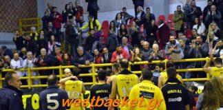 Ακράτα: Κέρδισε το ντέρμπι με Γλαύκο 67-53-Ελπίδες ανόδου