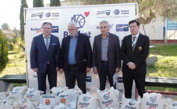 Κόροιβος: Θερμή υποδοχή του Basket Αγάπης στην Αμαλιάδα-pics
