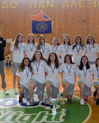 Χαμόγελα, μετάλλια και Κύπελλα για τα κορίτσια Έσπερου Α.Ο.Π.Α.-pics
