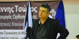 Χαρίλαος Τρικούπης: Ανανέωση συνεργασίας με Γιάννη Δημητριάδη