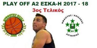 Σήμερα στις 20:15 στην Αλεξιώτισσα ο 'τελικός' ανόδου στην Α1 ΕΣΚΑ-Η