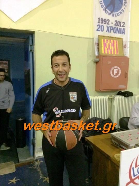 Οι διαιτητές των ομάδων της Δυτικής Ελλάδος-Ο Παναγιώτου σε ημιτελικό Κυπέλλου