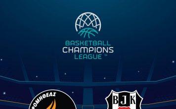 Προμηθέας - Μπεσίκτας Live για την 4η αγωνιστική του Basketball Champions League