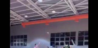 Το buzzer beater που μπαίνει υποψήφιο για το καλύτερο της χρονιάς μπήκε σε παιχνίδι της ΕΣΚΑ-Η. VIDEO