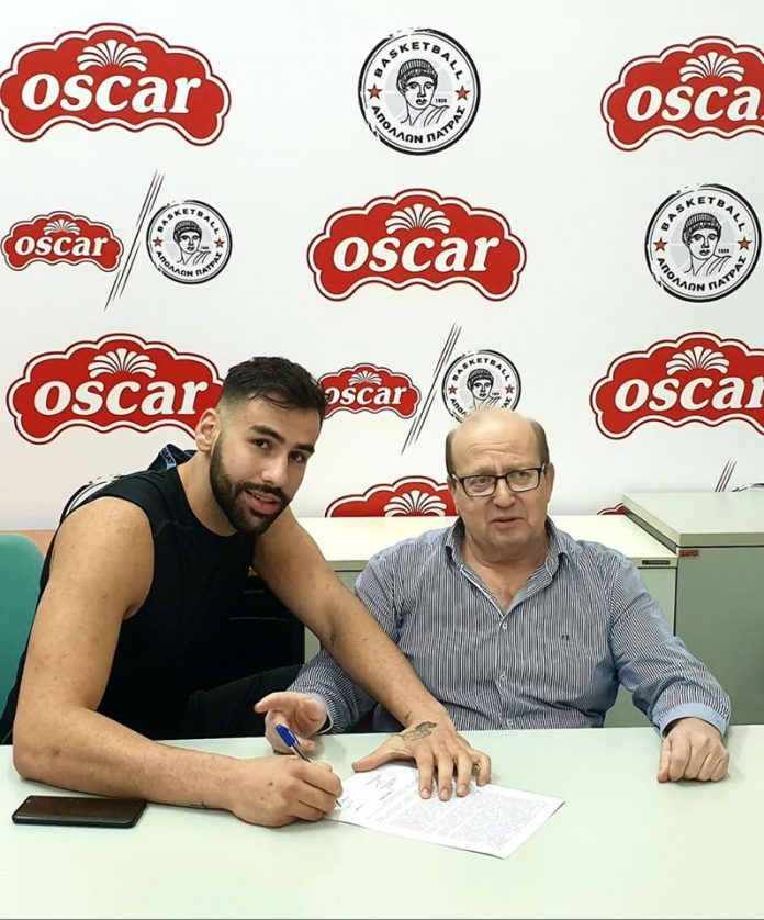 Oscar Απόλλων Πάτρας: Επισημοποιήθηκε η συνεργασία με Σκλήβα