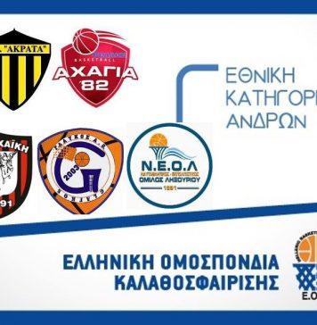 """Γ' Εθνική: """"Καρέ"""" νικών από τις ομάδες της ΕΣΚΑ-Η-Τα αποτελέσματα"""